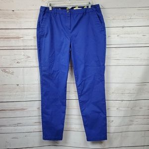 Boden cobalt blue Casual skinny slim ankle pants